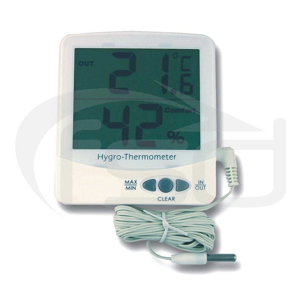 Jumbo Electronic Max / Min Thermometer Hygrometer