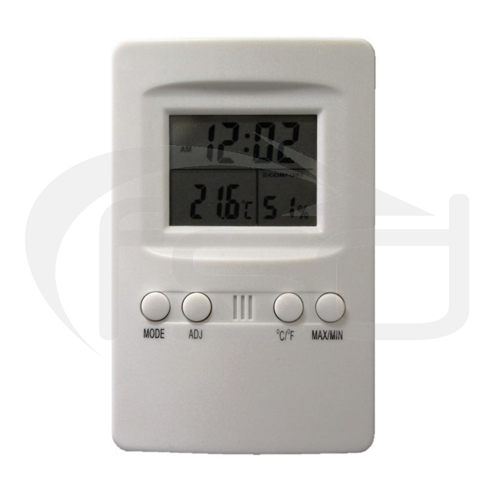 Thermo-Hygro Meter with Clock