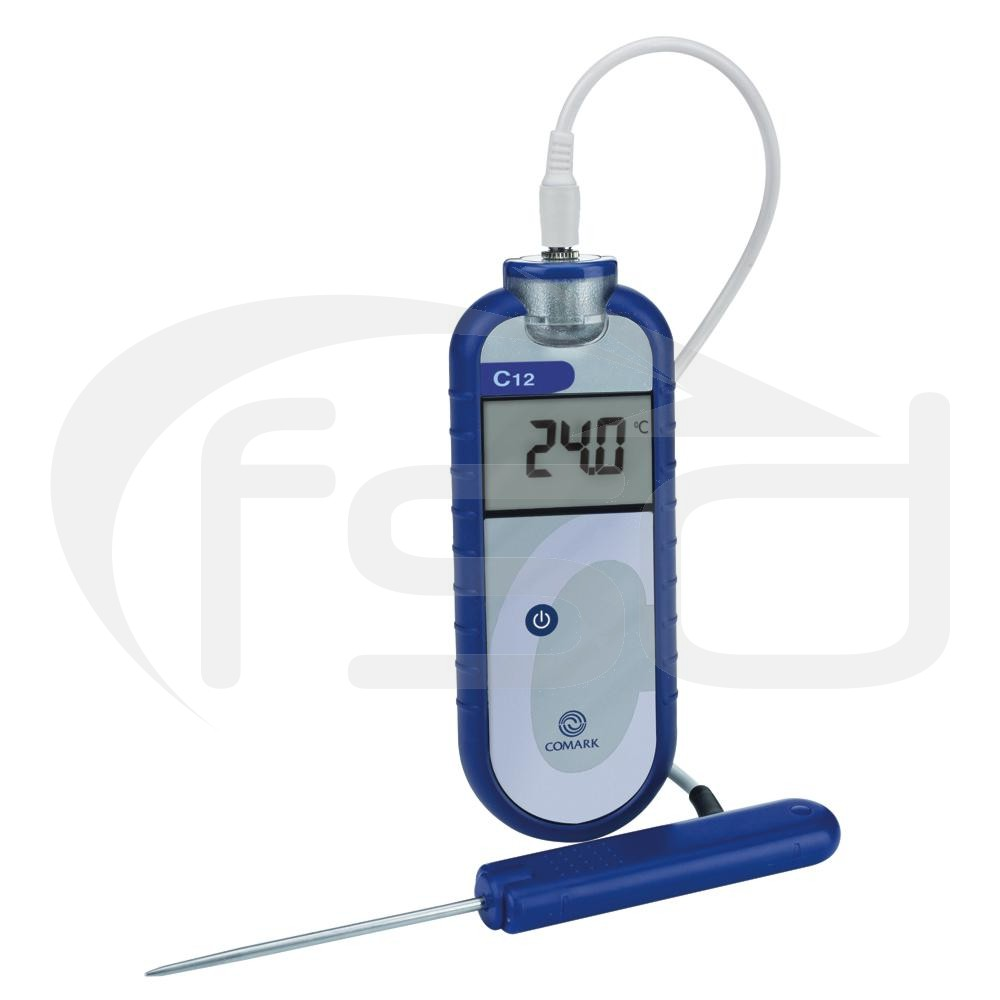 C12 Thermometer with Blue Label (Supplied)