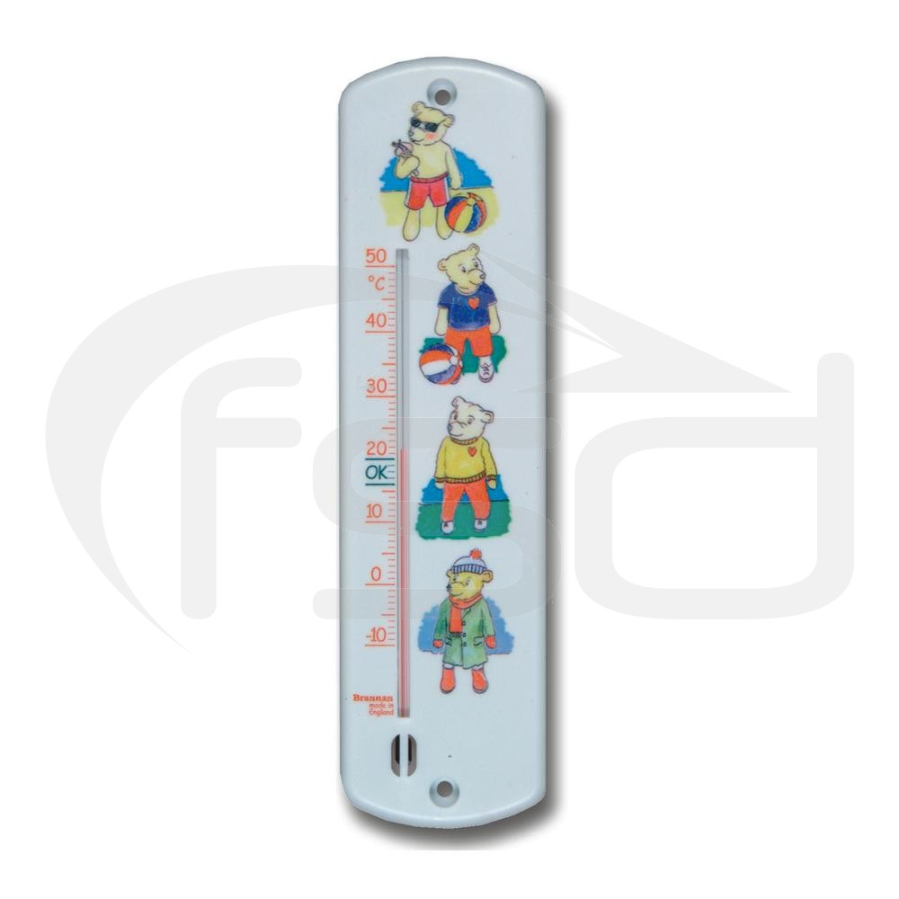 Teddy Design Nursery Thermometer