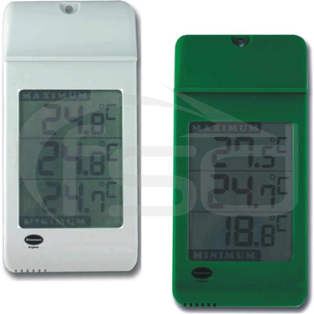 Digital Max / Min Large Display Thermometer in White or Green
