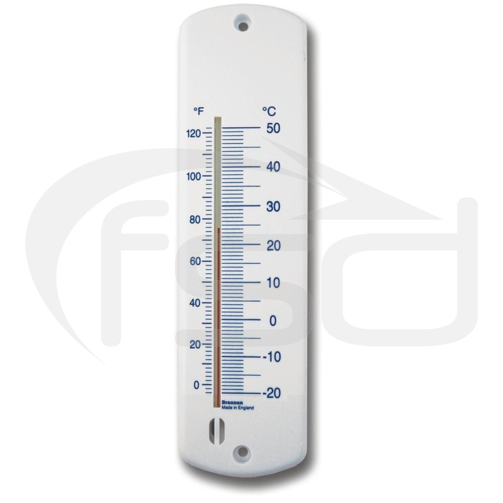 Plastic Wall Thermometer 240mm