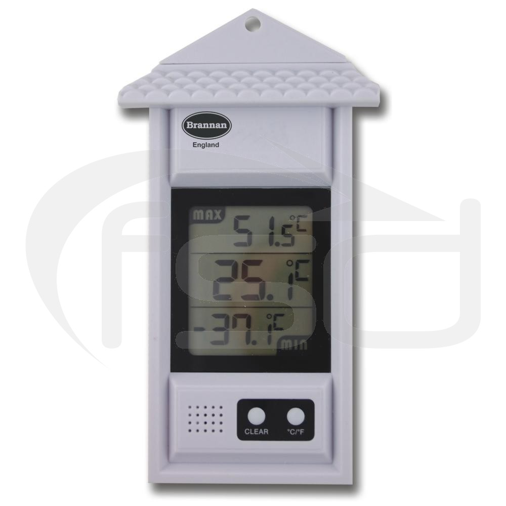Indoor or Outdoor Digital Max Min Thermometer