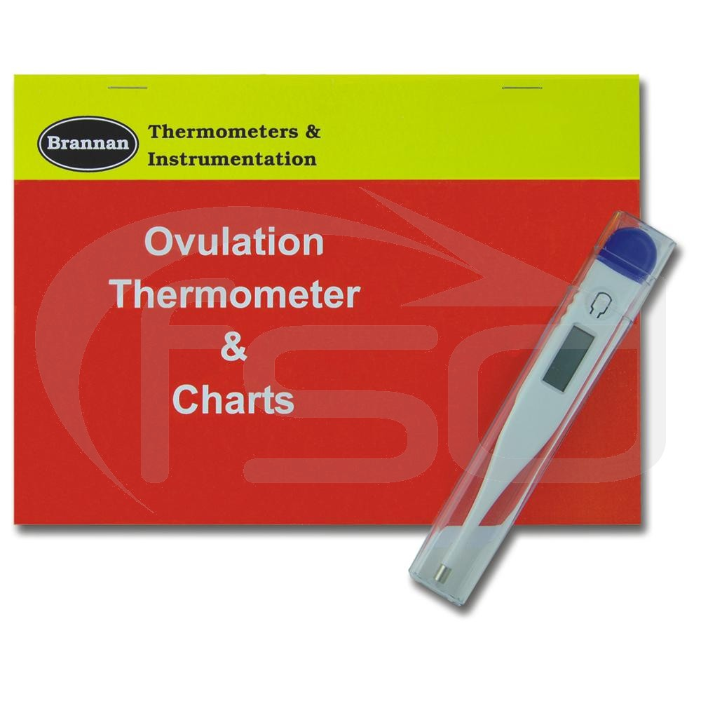 Ovulation and Fertility Thermometer and Charts