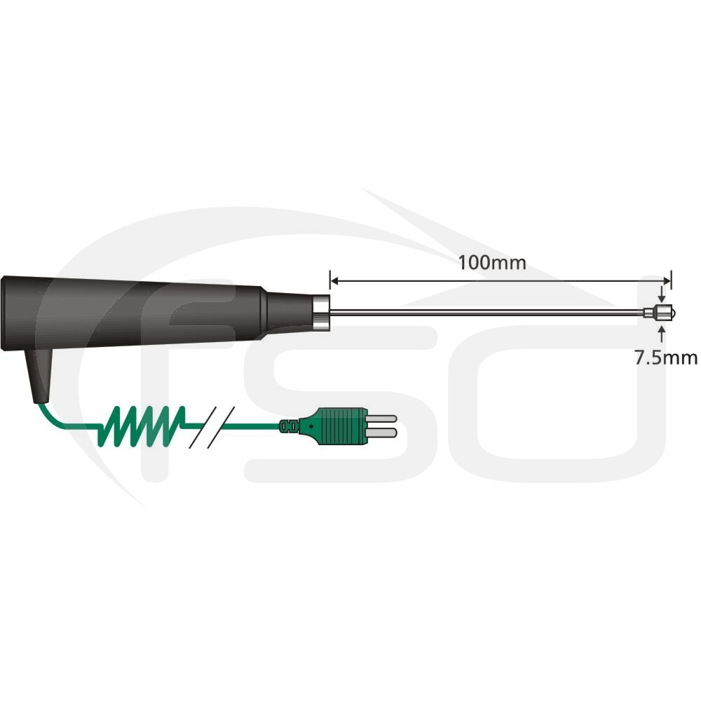 Comark General Purpose Surface K Probe - Fast Response (SK21M)