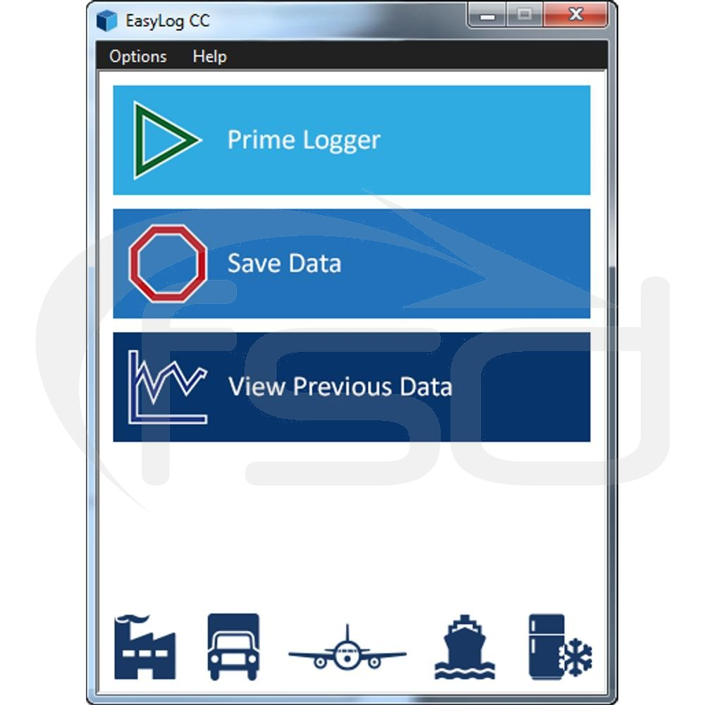 Product Data Logger Software : Cold chain data loggers thermometer superstore