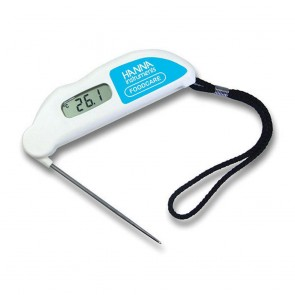 Hanna Folding Probe Thermometer with Cal Check (Various Colours)