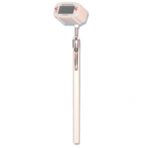 Swivel Head Digital Thermometer 120mm Stem