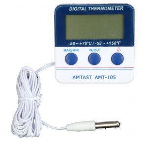 Fridge In Out Alarm Digital Thermometer