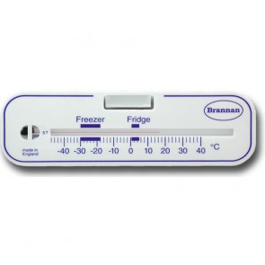 Brannan Horizontal Fridge Freezer Thermometer