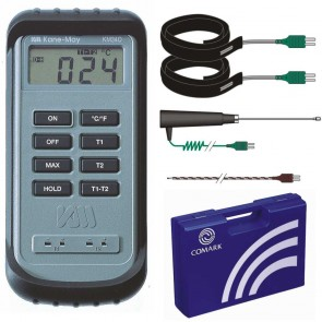 Comark KM340 Differential Thermometer Kit for HVAC