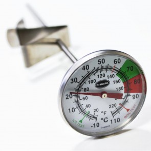 Milk and Coffee Thermometer (175mm stem)