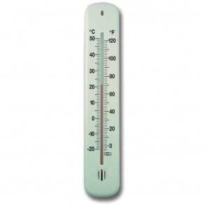 White Wall Thermometer 215mm