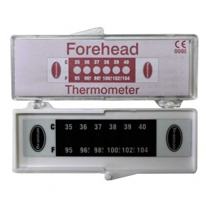 Forehead Temperature Indicator