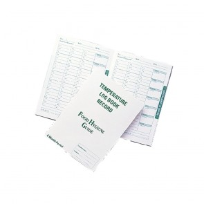 Hygiplas Temperature Log Book