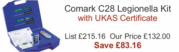 Comark C28 Legionella Kit Offer